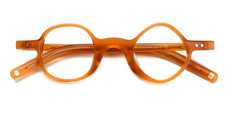 Ryan-Orange-Eyeglasses