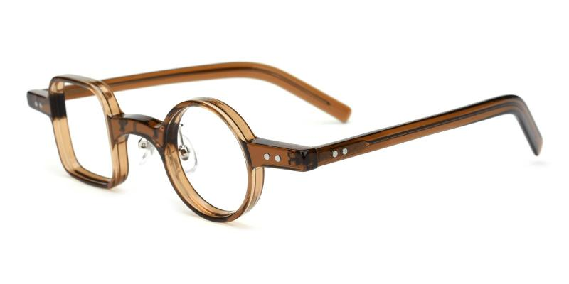 Sandy-Brown-Eyeglasses