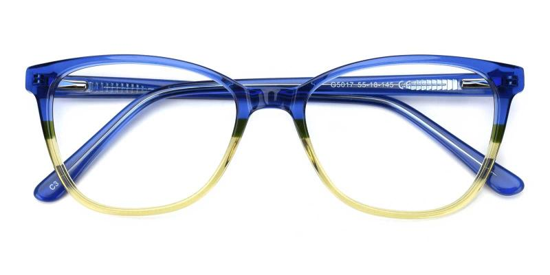 Lila-Blue-Eyeglasses