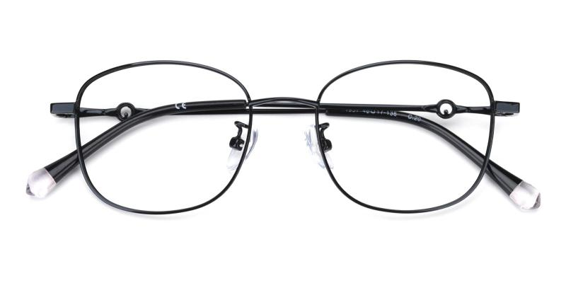 Olga-Black-Eyeglasses