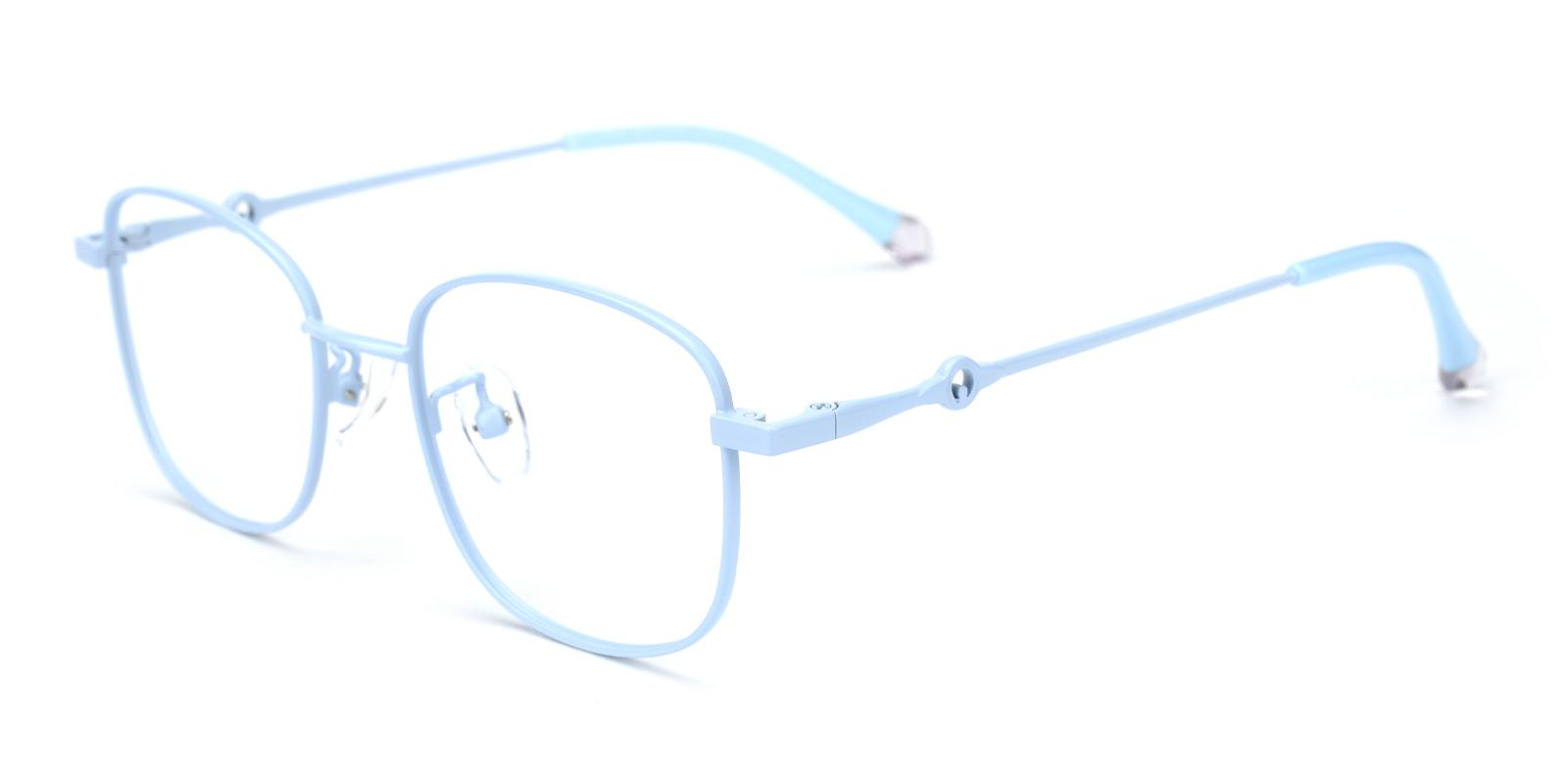 Olga-Blue-Rectangle-Metal-Eyeglasses-additional1