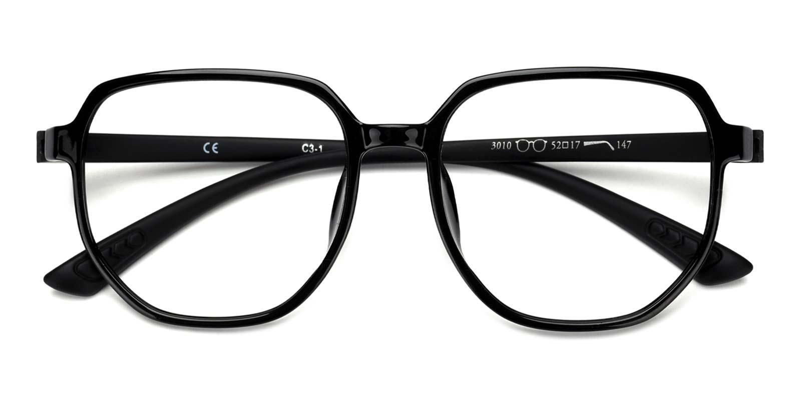 Pie-Black-Square-TR-Eyeglasses-detail