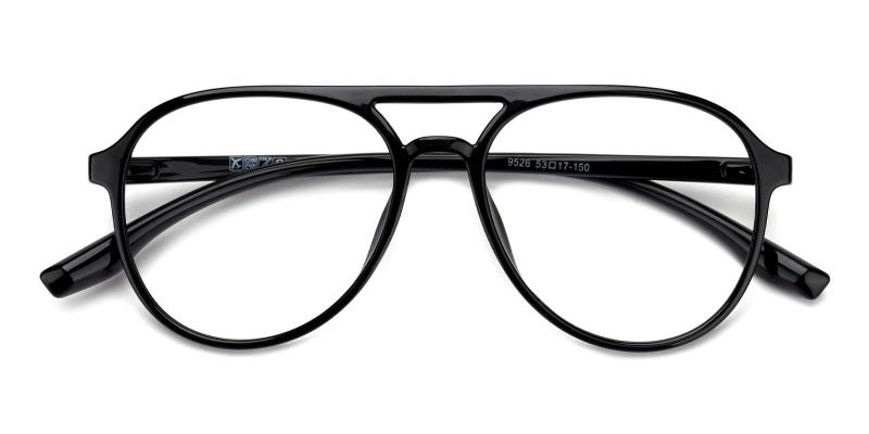 Mitchell-Black-Eyeglasses