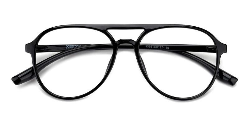 Mitchell-Black-Eyeglasses
