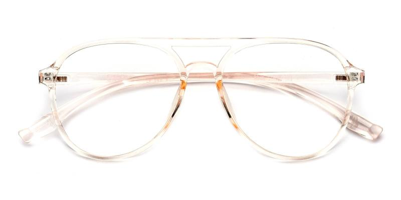 Mitchell-Orange-Eyeglasses