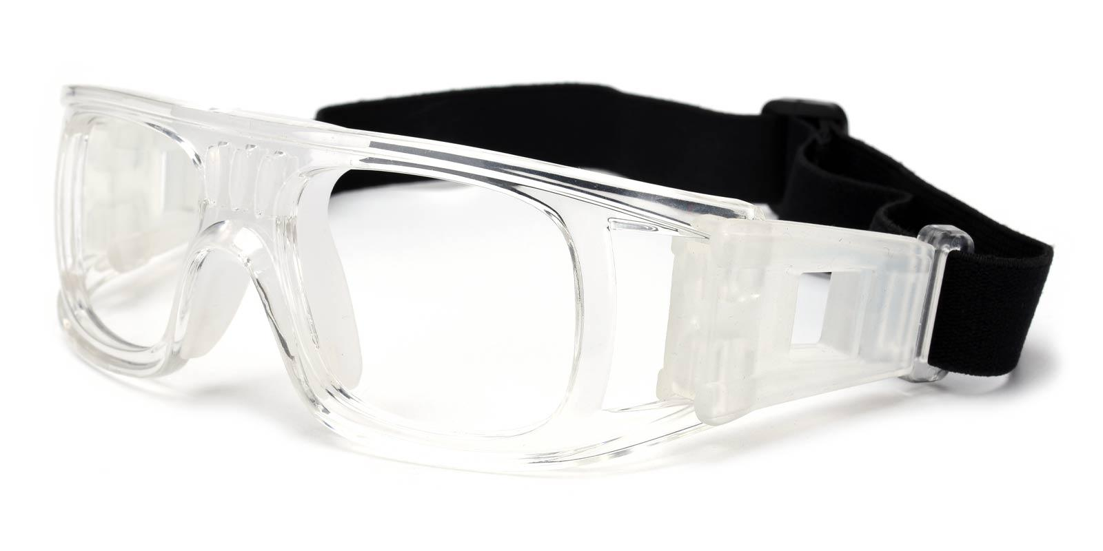 Sports goggles-White-Geometric-TR-SportsGlasses-detail