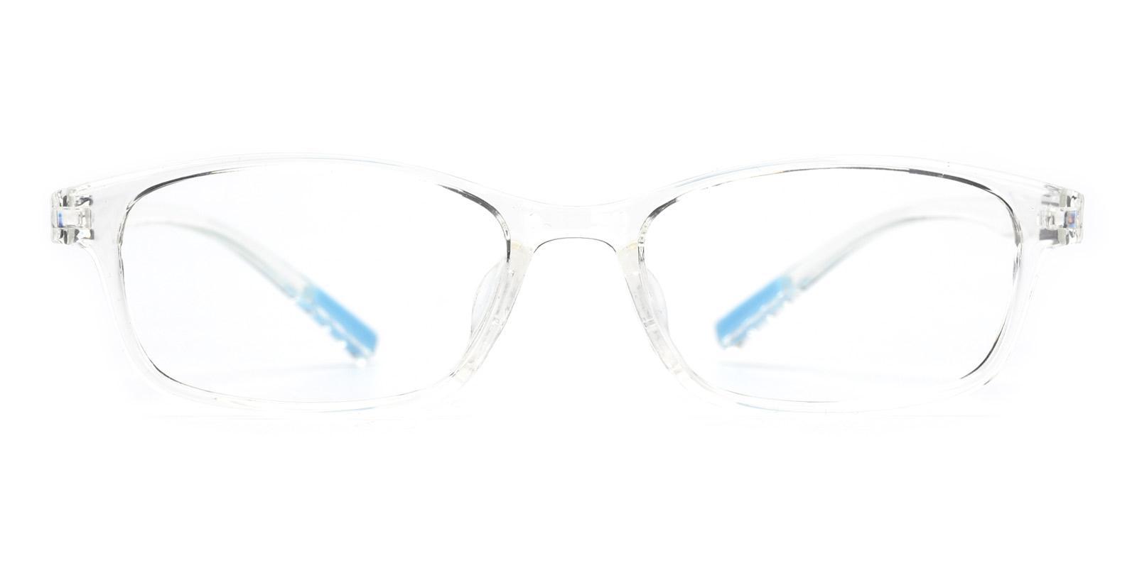 Blue-Translucent-Rectangle-TR-Eyeglasses-detail