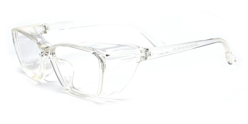 Protective Glasses-Translucent-Eyeglasses