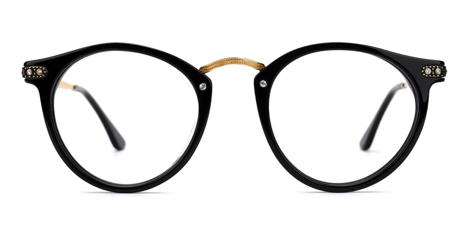 Donna-Black-Round-Acetate-Eyeglasses-additional2