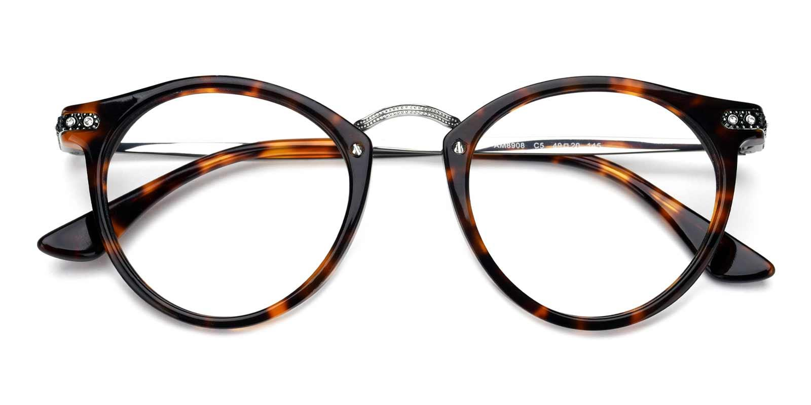 Donna-Leopard-Round-Acetate-Eyeglasses-detail