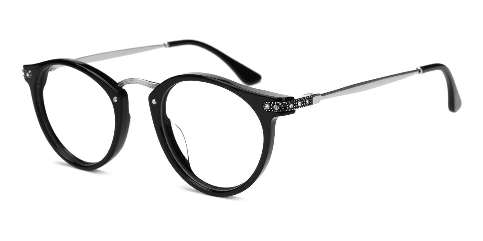 Donna-Silver-Round-Acetate-Eyeglasses-additional1