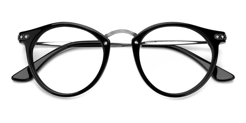 Donna-Silver-Eyeglasses