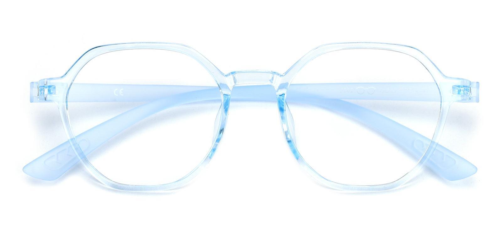 Esther-Blue-Geometric-TR-Eyeglasses-detail