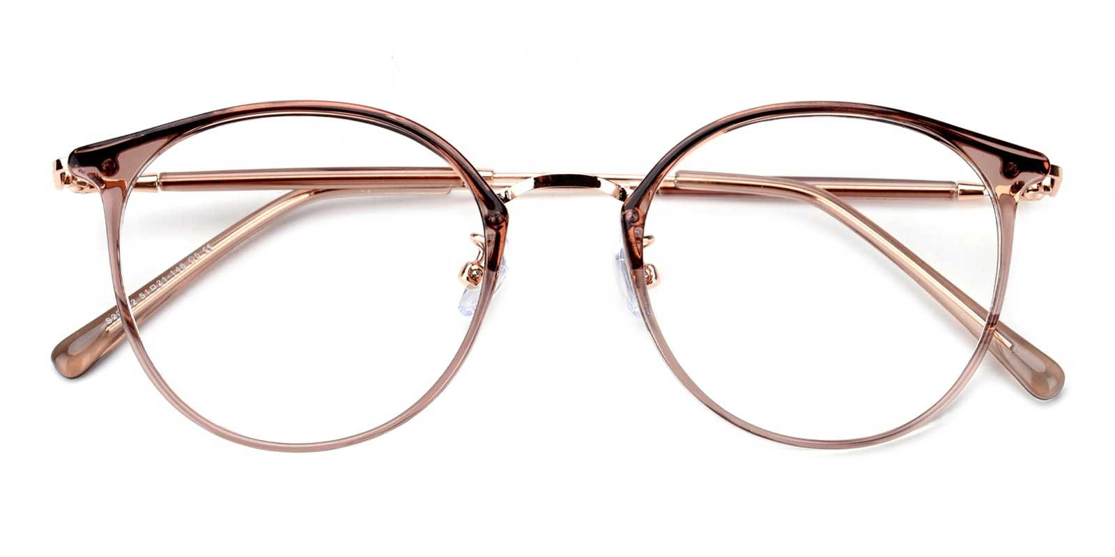 Louise-Purple-Round / Cat-TR-Eyeglasses-detail