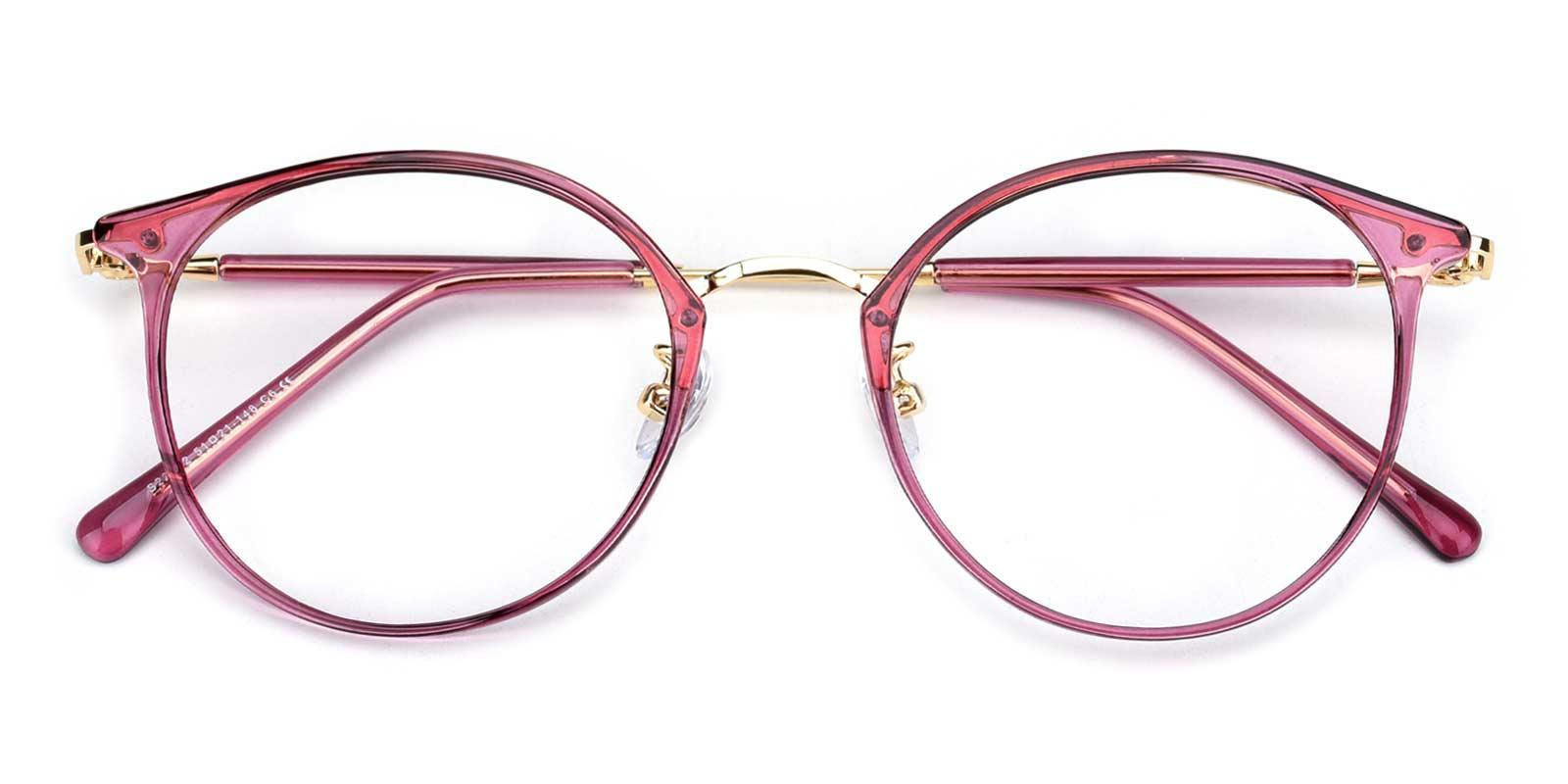Louise-Red-Round-TR-Eyeglasses-detail