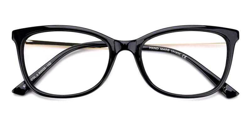Monica-Black-Eyeglasses