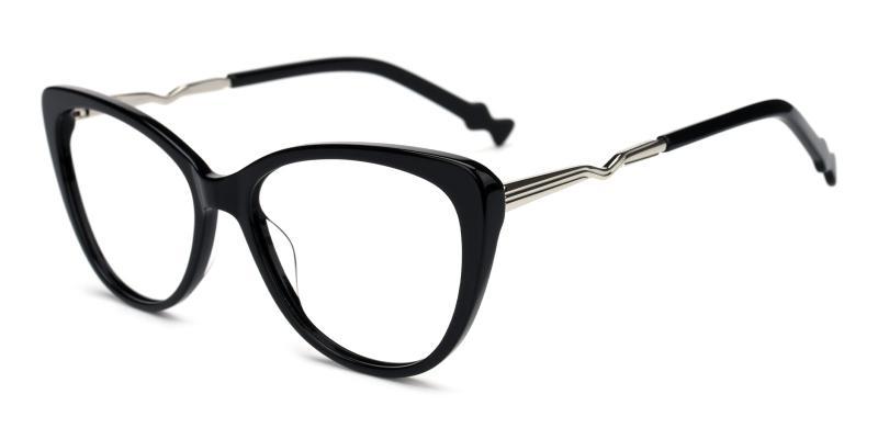 Winni-Black-Eyeglasses