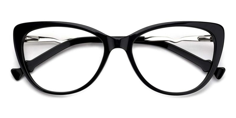 Winni-Black-Eyeglasses