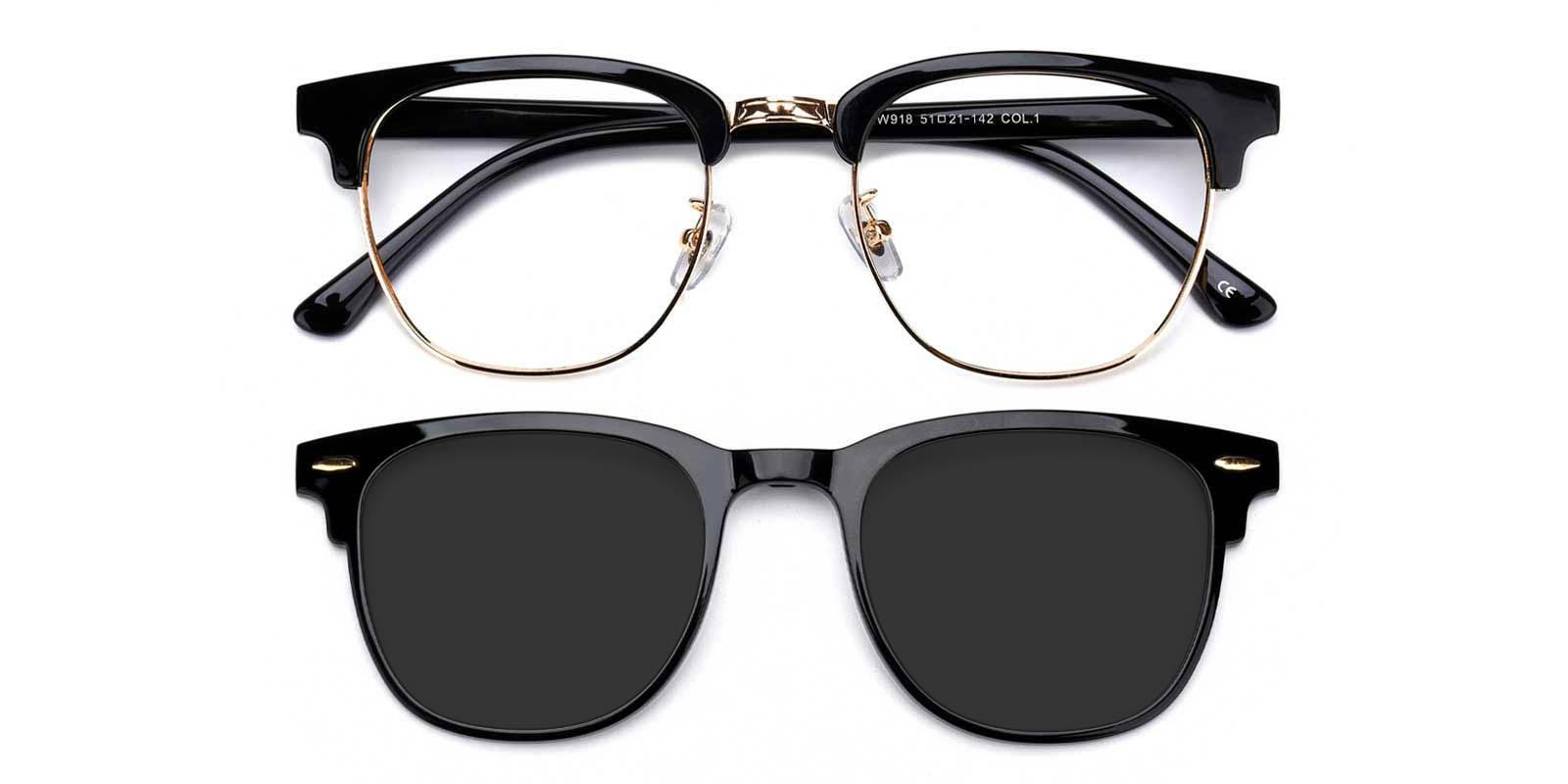 Meditation-Black-Browline-TR-Eyeglasses-detail