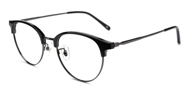 Gaze-Black-Eyeglasses