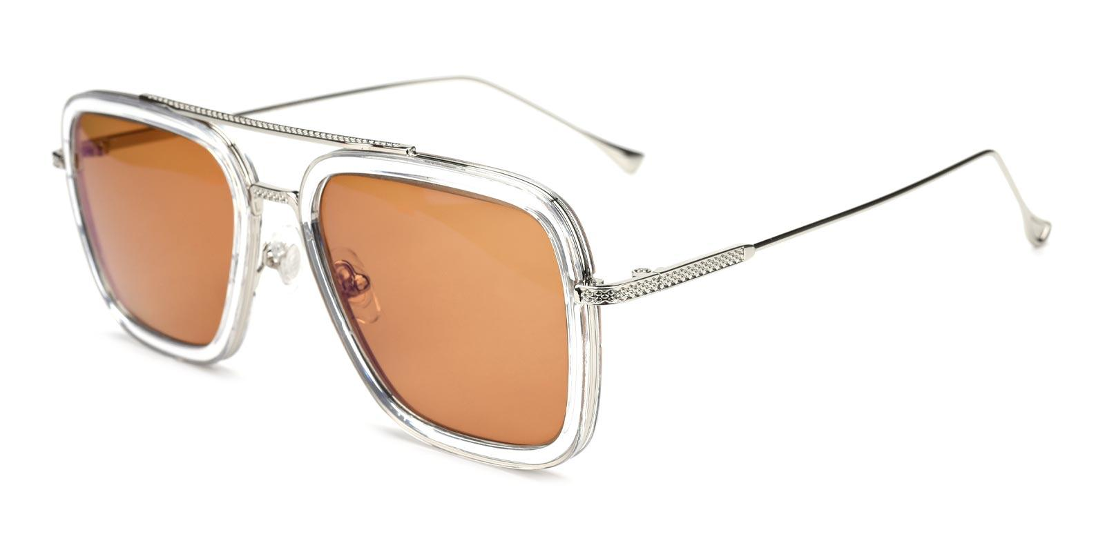Space Traveler-Brown-Aviator-Plastic-Sunglasses-detail