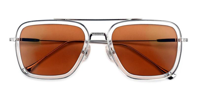 Space Traveler-Brown-Sunglasses