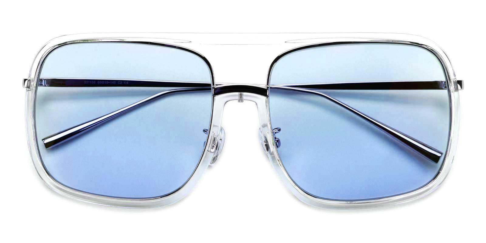 Cedric-Blue-Aviator-Plastic-Sunglasses-detail