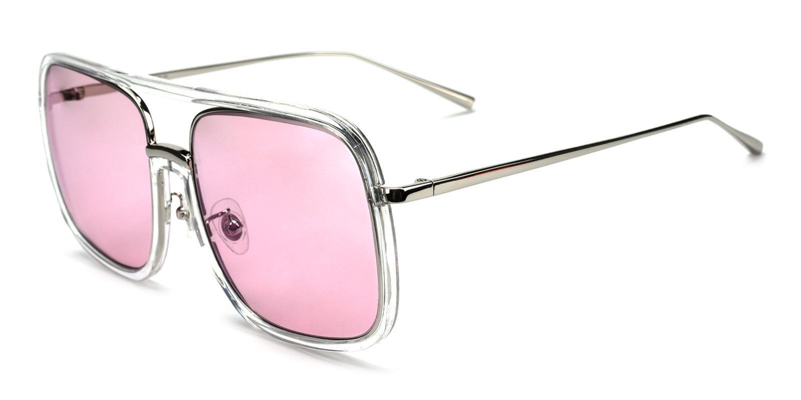Cedric-Pink-Aviator-Plastic-Sunglasses-detail
