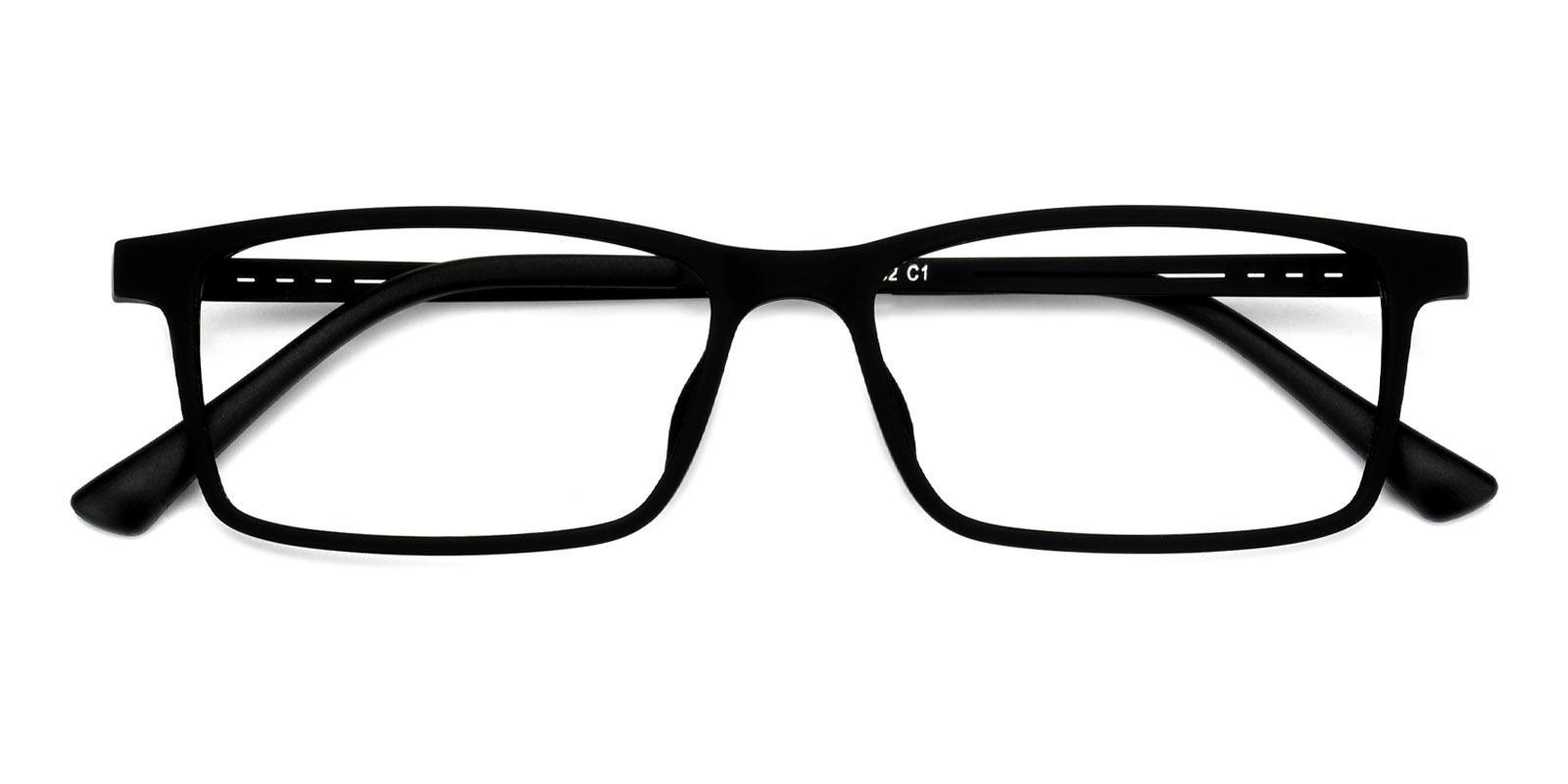 Henry-Black-Rectangle-Titanium-Eyeglasses-detail