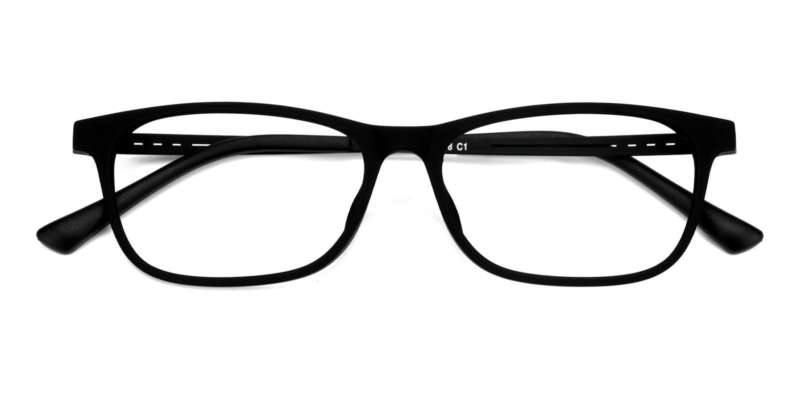Lynn-Black-Rectangle-Titanium-Eyeglasses-detail
