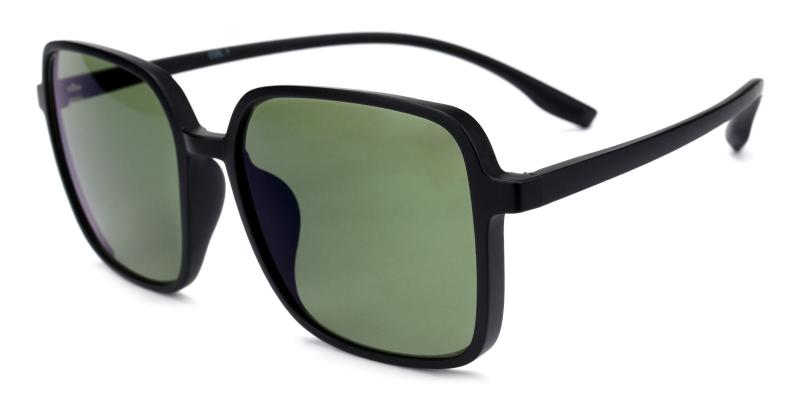 Uninhibited-Green-Sunglasses