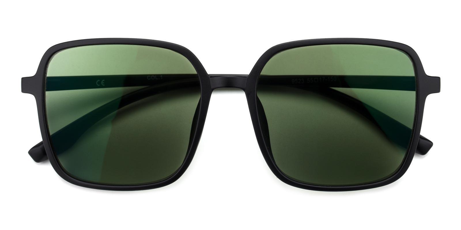 Uninhibited-Green-Square-TR-Sunglasses-detail