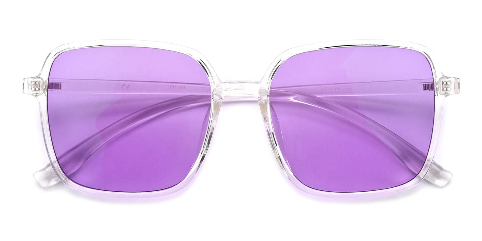 Uninhibited-Purple-Square-TR-Sunglasses-detail