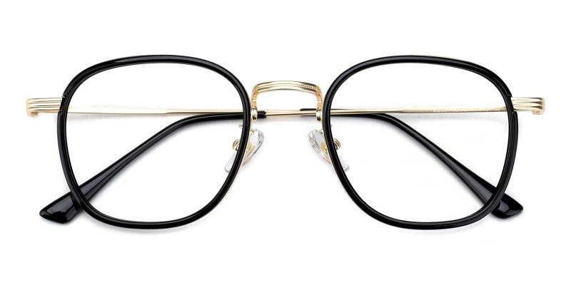Genmai-Black-Eyeglasses
