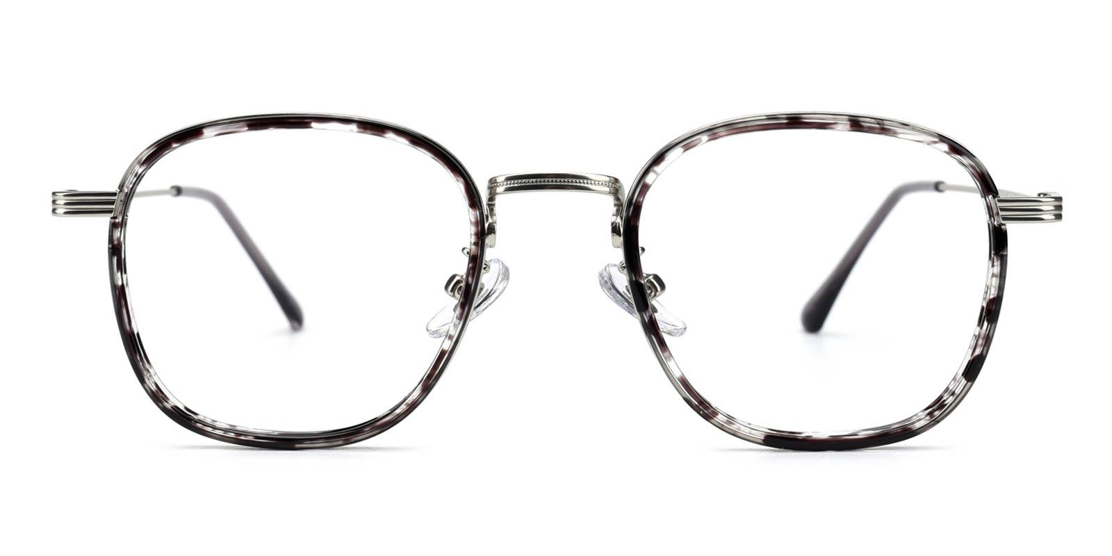 Genmai-Gray-Square-Metal-Eyeglasses-detail
