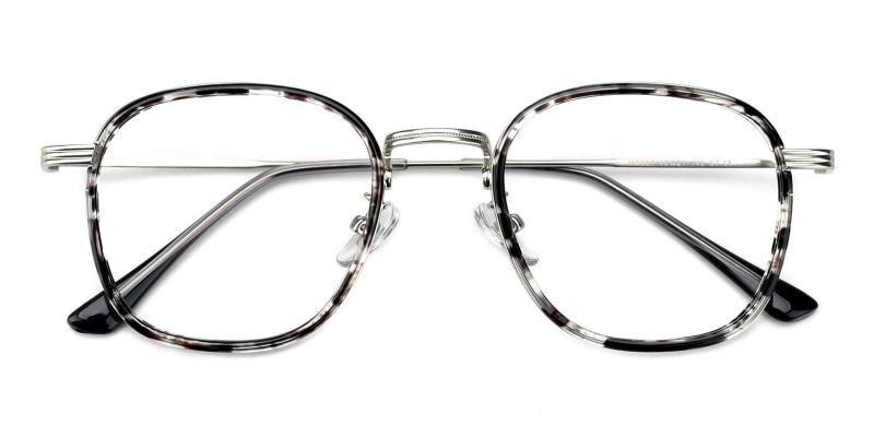 Genmai-Gray-Eyeglasses