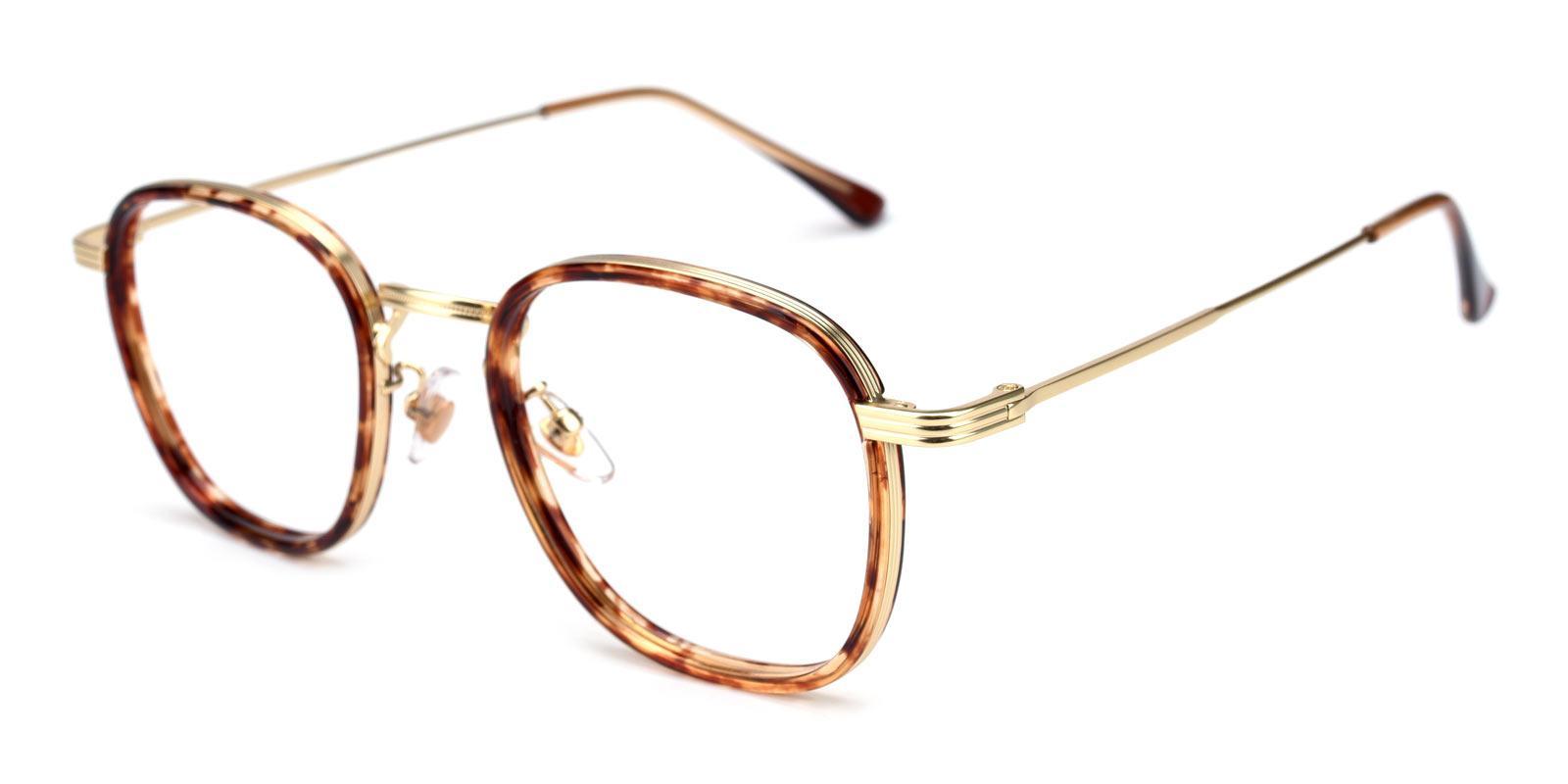 Genmai-Tortoise-Square-Metal-Eyeglasses-detail