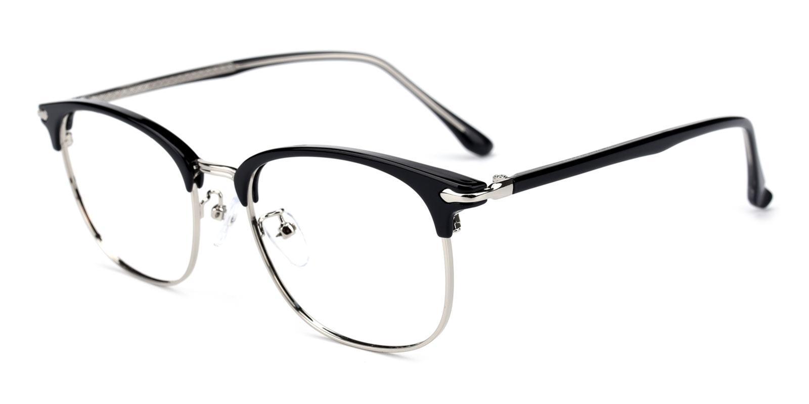 Shakespeare-Black-Browline-TR-Eyeglasses-detail