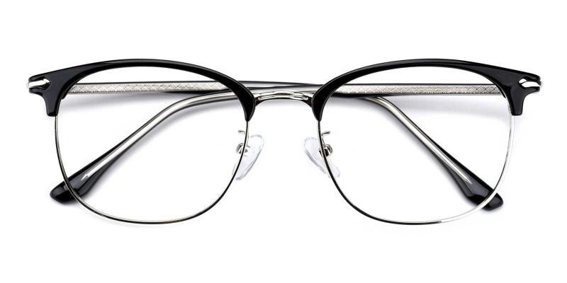 Shakespeare-Black-Eyeglasses