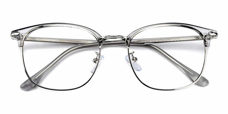 Shakespeare-Gray-Eyeglasses