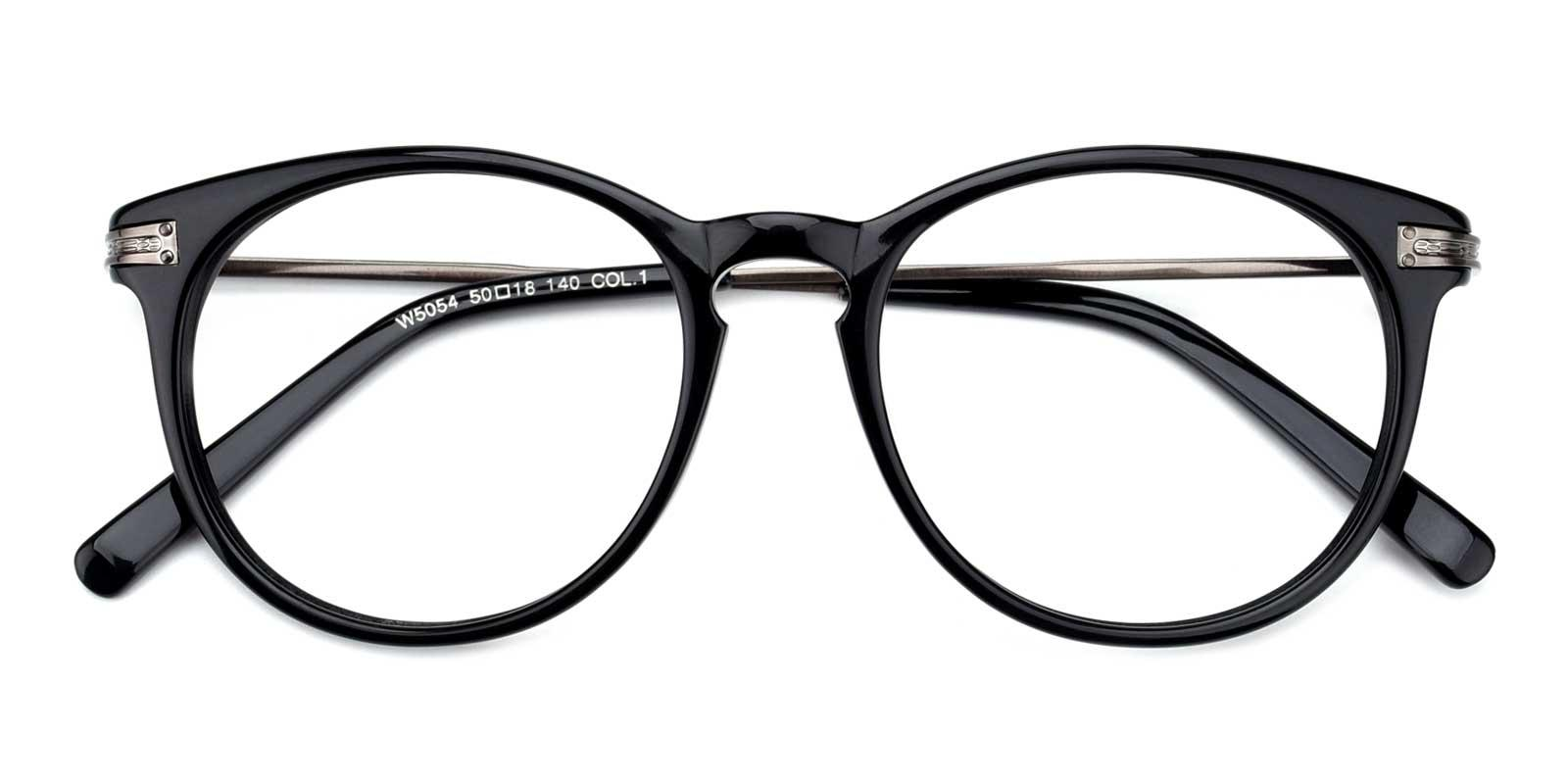 Condiments-Black-Round-TR-Eyeglasses-detail