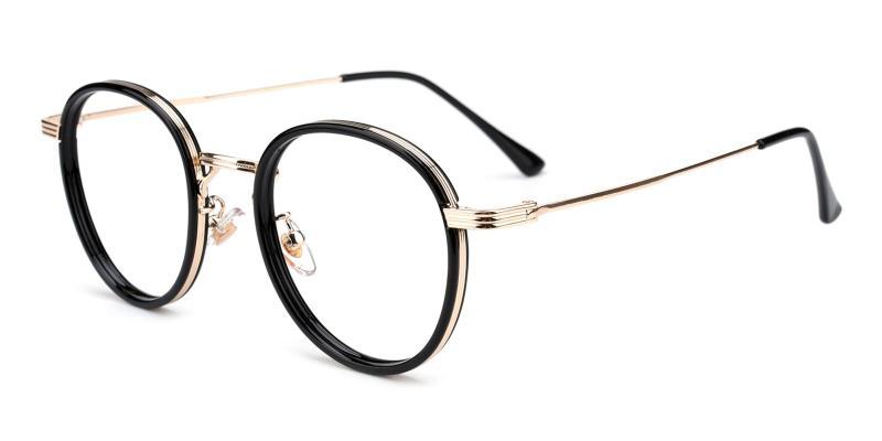 Ajinomoto-Black-Eyeglasses