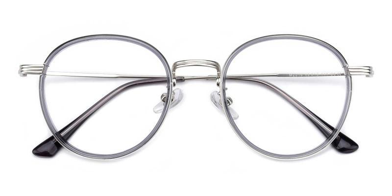 Ajinomoto-Gray-Eyeglasses
