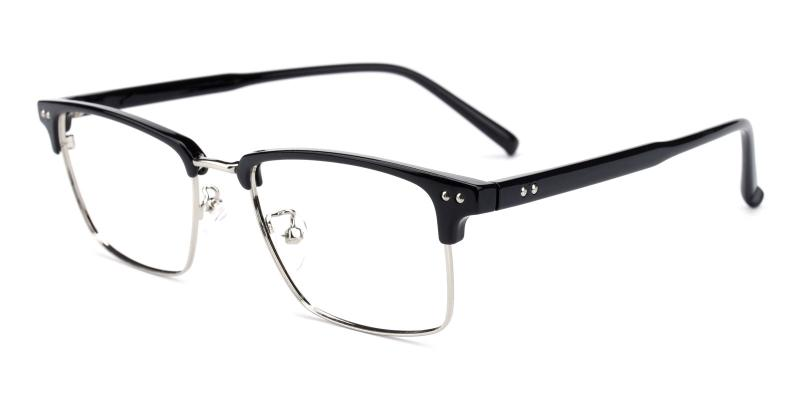 Caution-Black-Eyeglasses