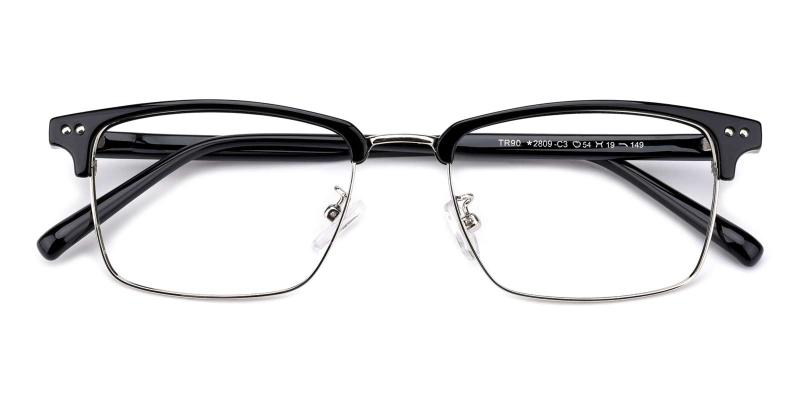 Caution-Black-Eyeglasses