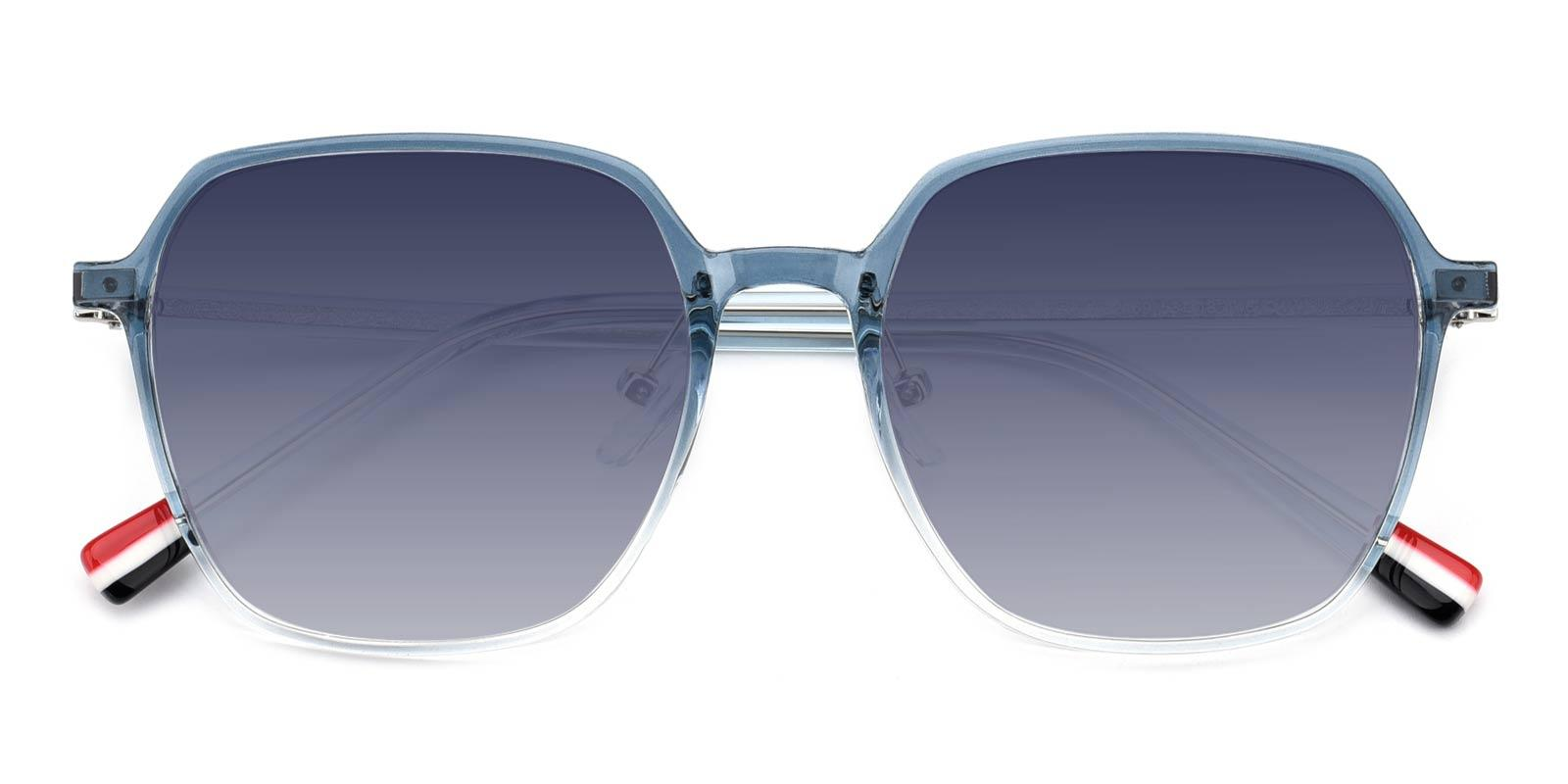 Enid-Blue-Square-TR-Sunglasses-detail