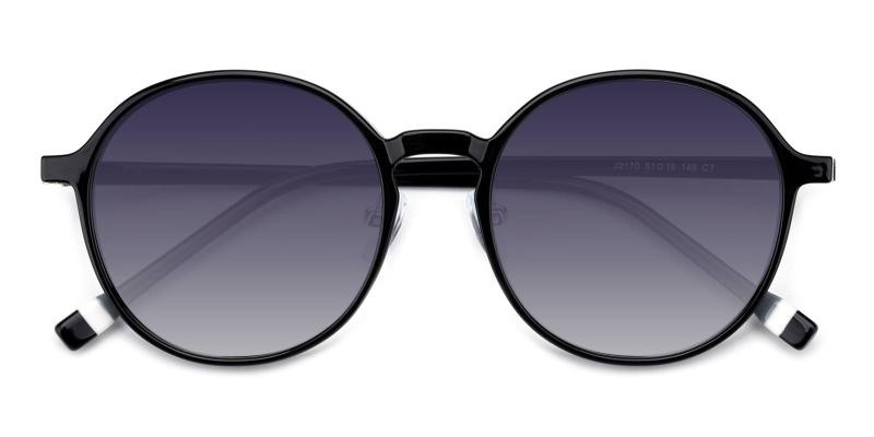 Frederica-Black-Sunglasses