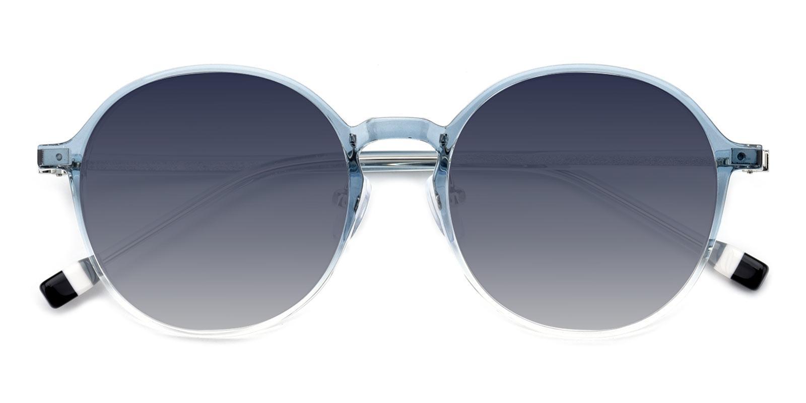 Frederica-Blue-Round-TR-Sunglasses-detail