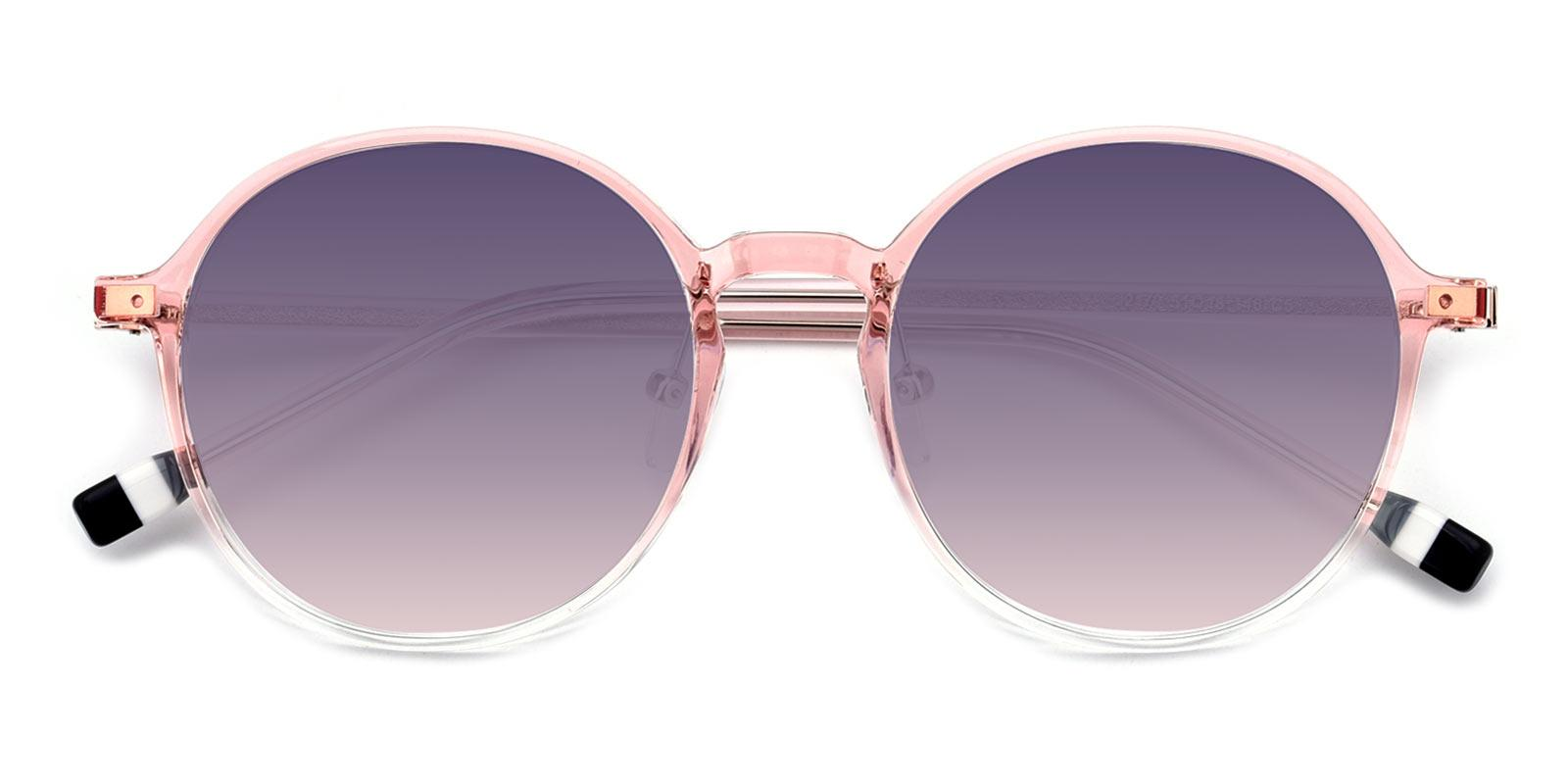 Frederica-Pink-Round-TR-Sunglasses-detail