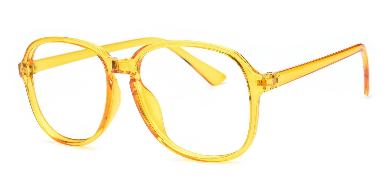 70s-Yellow-Square-TR-Eyeglasses-detail